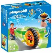 Playmobil speed roller con robot arancio 9203