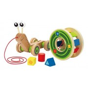 Hape International Hape Walk-A-Long Snail Toy