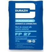 DURAZIV FP 27 GLET DE CIMENT ALB PENTRU EXTERIOR 20KG