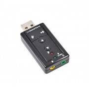 External Virtual 5.1 Channel USB Audio Converter / Sound Card device for PC's / Laptops