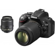 Nikon D5200+18-55MM VR II KIT+55-300MM VR+CF-EU05 BAG+SDHC 8GB CLASS 10