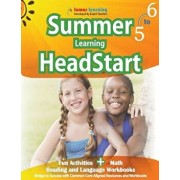 Summer Learning Headstart, Grade 5 to 6: Fun Activities Plus Math, Reading, and Language Workbooks: Bridge to Success with Common Core Aligned Resourc, Paperback/Lumos Learning