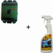 Set 1 aparat cu ultrasunete portabil antipasari 70628 + 1 spray impotriva pasarilor Pestmaster PR 29