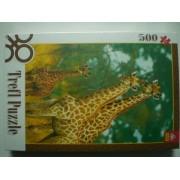 Пъзел 500 ел. Жирафи