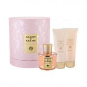 Acqua di Parma Rosa Nobile darovni set parfemska voda 100 ml + gel za tuširanje 75 ml + krema za tijelo 75 ml za žene