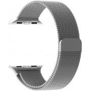 Wotchi Ocelový milánský tah pro Apple Watch Stříbrný 42/44 mm