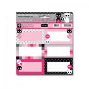 1 csomag Think-Pink iskolai etikett