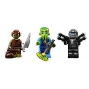 Goblin, Space Alien Warrior, Space Galaxy Trooper: Lego Collectible Minifigures Series 13 Custom Bun