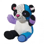 Britto by Internationally Acclaimed Artist Romero Britto for Enesco Panda Plush - Large -15 inches t