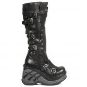 bottes en cuir pour femmes - NEW ROCK - M.SP9831-S1