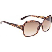 Tom Ford Over-sized Sunglasses(Brown)