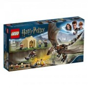 Конструктор Лего Хари Потър - Магическо предизвикателство с унгарски рогоопашат дракон - LEGO Harry Potter, 75946