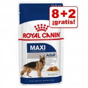 Royal Canin 10 a 12 sobres en oferta: 2 sobres ¡gratis! - Medium Adult (10 x 140 g)