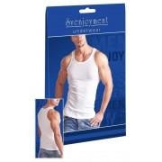 Svenjoyment Classic Double Rib Tank Top T Shirt White 2160900