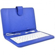 Infinity Key Combo 8 inch Micro USB Case Keyboard - Fits 8 inch Tablets (Blue)