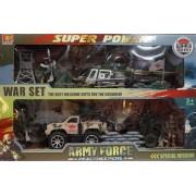Super power Army Force háborús szett - Gyerek játék
