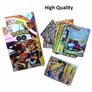 Vortex Toys Pokemon 100 Gold Trading Card Game Set Fun Play for Kids Cards (Multicolor)