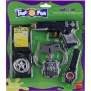 Smiffys Plastic politie speelgoed set