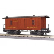 MTH TRAINS; MIKES TRAIN HOUSE PRR 19TH CENTURY BAGGAGE