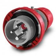 Scame Spina Mobile Optima 16a 3p+t 380-415v 6h Morsetti A Vite Con Dispositivo Reverse
