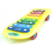 Vivir Scooter Musical Xylophone Knock Piano Toy for Kids