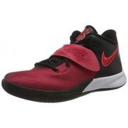 Nike Kyrie Flytrap Iii Zapatillas de baloncesto para hombre, Negro/Rojo Universitario-Brillante Carmesí, 15 US