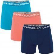 Muchachomalo Boxershorts 3er-Pack 280 - Orange Größe L