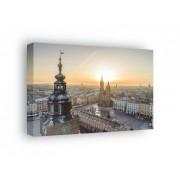 Rynek Kraków Ratusz - obraz na płótnie