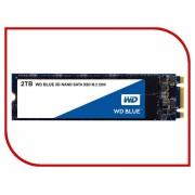Жесткий диск 2Tb - Western Digital WD Blue WDS200T2B0B