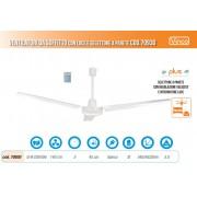 Agitatore/Ventilatore da soffitto con 3 pale e selettore da parete Vinco - Easy 70930