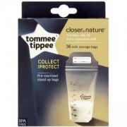 Комплект пликчета за съхранение на кърма, Tommee Tippee, 263156