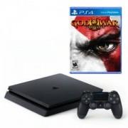 Конзола PlayStation 4 Slim 500GB Black + Игра God of War 3 Remastered