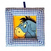 Tablou textil pentru perete Disney Aiurel, carouri albasru I
