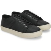 Carlton London Mr.CL Sneakers(Black, White)