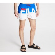 FILA Makoto Beach Shorts Royal Blue/ Bright White