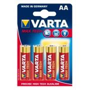 Varta Batteri Max Tech Lr6 Aa Varta