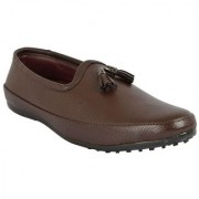 Dia A Dia Party wear loafer Lifestyle Brown Casual Shoes
