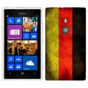 Husa Nokia Lumia 925 Silicon Gel Tpu Model Germany Flag