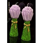 Lavendel, Figuurkaars H:23 cm