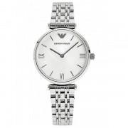 Giorgio Armani horloges Ar1682 zilveren roestvast stalen dameshorloge