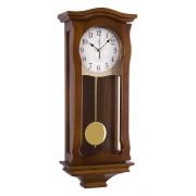 Kyvadlové skříňové rádiem řízené dřevěné hodiny JVD NR2219/11
