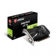 Видео карта Nvidia GeForce GT 1030, 2GB, MSI GeForce GT1030 AERO ITX 2GD4 OC Edition, PCI-E 3.0, DDR4, 64 bit, HDMI, DVI