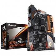 MB, GIGABYTE H370 AORUS GAMING 3 WIFI /Intel H370/ DDR4/ LGA1151