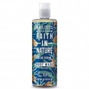 Faith in Nature Kék Cédrus tusfürdő férfiaknak - 400ml