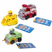 Paw Patrol Three Piece Vehicle Set Rescue Racers 1 6024058