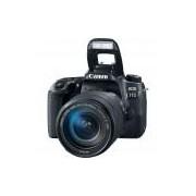 Câmera Canon EOS 77D EF-S 18-135 Is Usm, 24mp, Full Hd, Wi-Fi