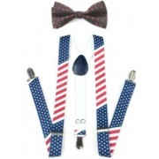 Civil Outfitters Y- Back Suspenders for Men, Women, Boys, Girls(Multicolor)