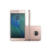 Smartphone Motorola Moto G 5s Plus Dual Chip Android 7.1.1 Nougat Tela 5.5 Snapdragon 625 32GB 4G 13MP Câmera Dual Cam - Ouro rosa