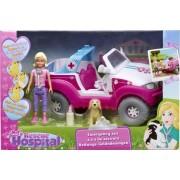 Rescue Hospital Vivid ambulanta cu figurine 4x4 VI60139 +3ani