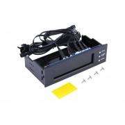 5.25 Temperatura Del Controlador De Velocidad Del Ventilador Del PC A La Pantalla LCD Del Panel Frontal
